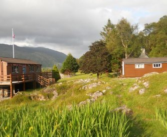 The Bunkhouse looking east