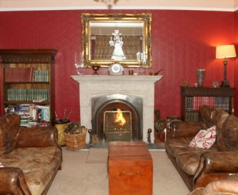 The Red Room for a real log fire to relax with