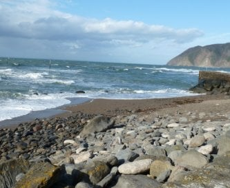 Lynmouth Bay just 5 minutes drive away