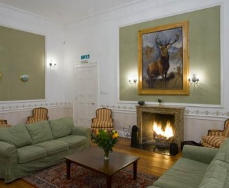 Main reception room with majestic stag!