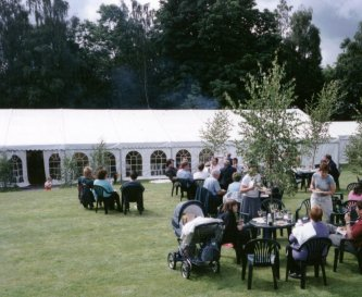 An excellent marquee site for larger events.