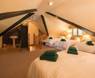 Master Bedroom in Lodge
