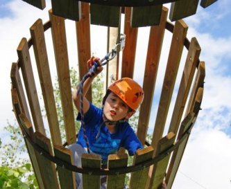 New Junior Challenge Course at Llangorse