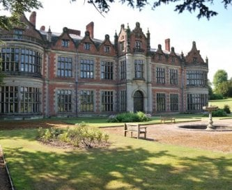 The North Front with formal gardens