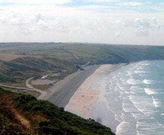 Our nearest beach at Newgale - 3 miles away