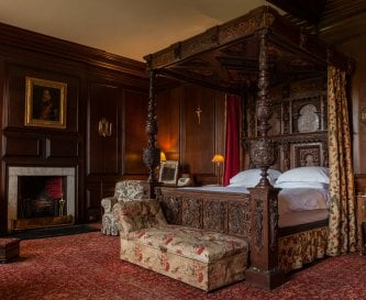Luxury bedrooms at Broughton Hall