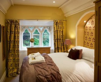 Bedroom 3. Double with garden views and ensuite.
