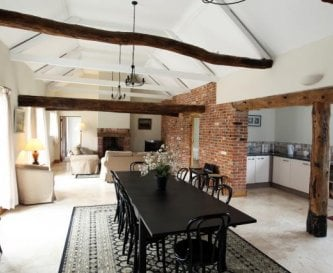 The Stables - Open plan living area