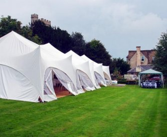 Option 2 with Marquee on the West Wing lawn