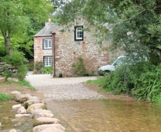 The stepping stones across Helm Beck