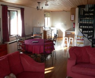 Lounge/Dining/Kitchen in Wringford Cottage