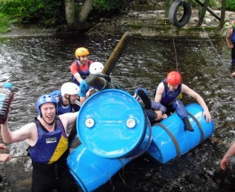 Raft Building, well we are only Humon !
