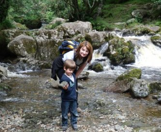 one of the smaller falls at Aira Force, Ullswater