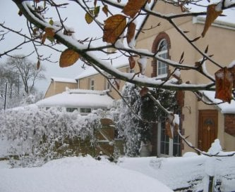 Beech House - beautiful in the snow