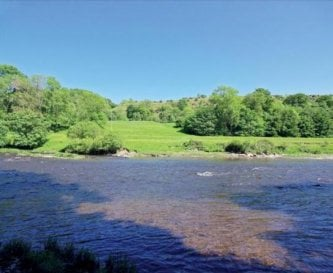 Private stretch of fordable river