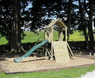 The play area is very popular with smaller guests