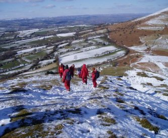 Winter hill walk