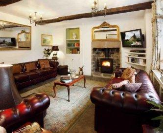 Impressive Sitting Room at Elton Old Hall c1668