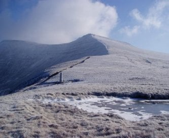 Walking and cycling in the Brecon Beacons.