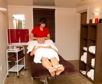Spa treatment rooms at Morton of Pitmilly