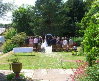 Beautiful Grounds for your Wedding Ceremony