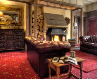 The Drawing Room - Relax by the fire in style