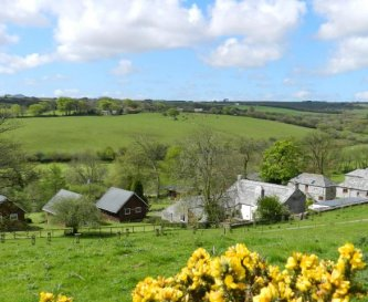 Ta Mill -surrounded by rolling countryside