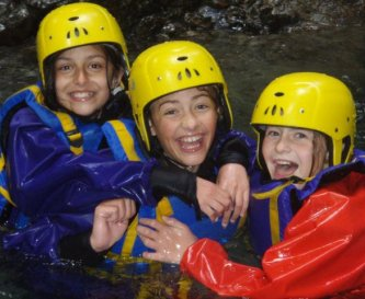 Ghyll scrambling - a popular activity