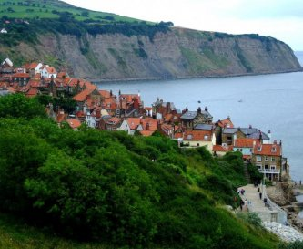 Robin Hoods Bay from The Cleveland Way