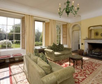 Main Drawing room at Tone Dale House