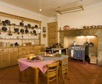 Kitchen at Tone Dale House