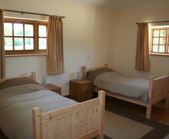 Bedroom set up for B&B