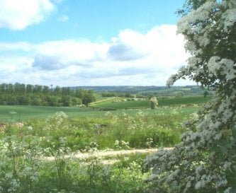 View from Cats Abbey over the Windrush Valley