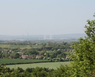 Some great views overlooking the River Severn
