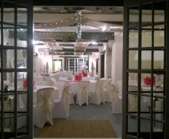 The Coach House with Hessian and Fairy Lights