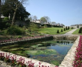 Plas Cadnant Walled Garden Pool
