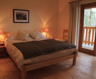 Denmark Farm Eco Lodge double bedroom