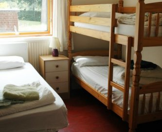 Typical Bedroom in Wetherdown Lodge
