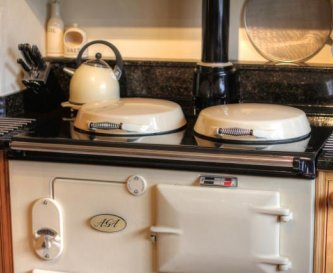 2 Oven AGA plus 2nd traditional range cooker.