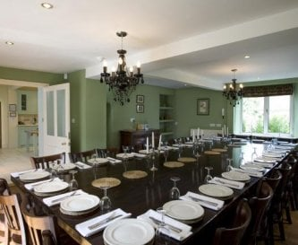 Dining room at Widcombe Grange