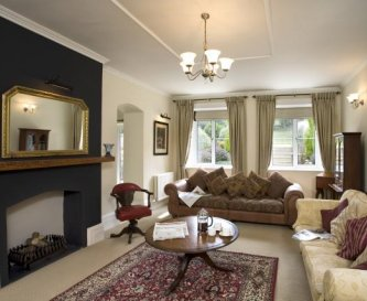 Sitting room at Widcombe Grange