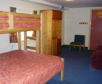 Ground floor en suite disabled room
