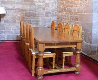 Room for group dining in Wye