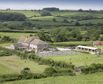 Barn Hayes Farmhouse set in rural Dorset: