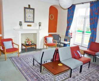 Larger of 2 reception rooms with access to garden