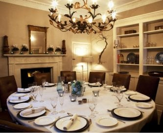 Formal Dining for up to 14 guests
