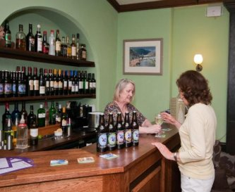 Licensed bar, open throughout your stay
