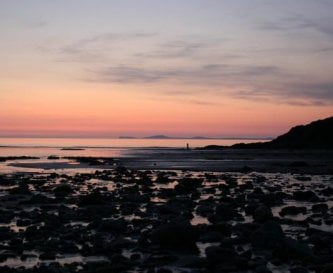 Sunset at Broad Haven Beach