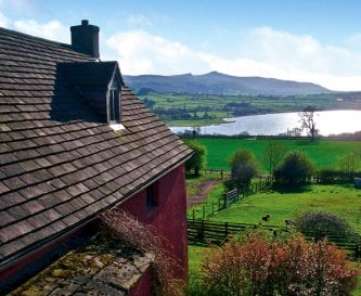 View from the Bunkhouse and Farmhouse