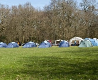 Our 86 acre site has plenty of camping space